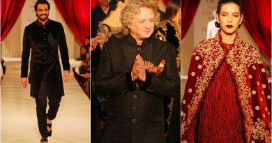 2017 India Fashion Week: Arjun Rampal is a stunning showstopper for Rohit Bal